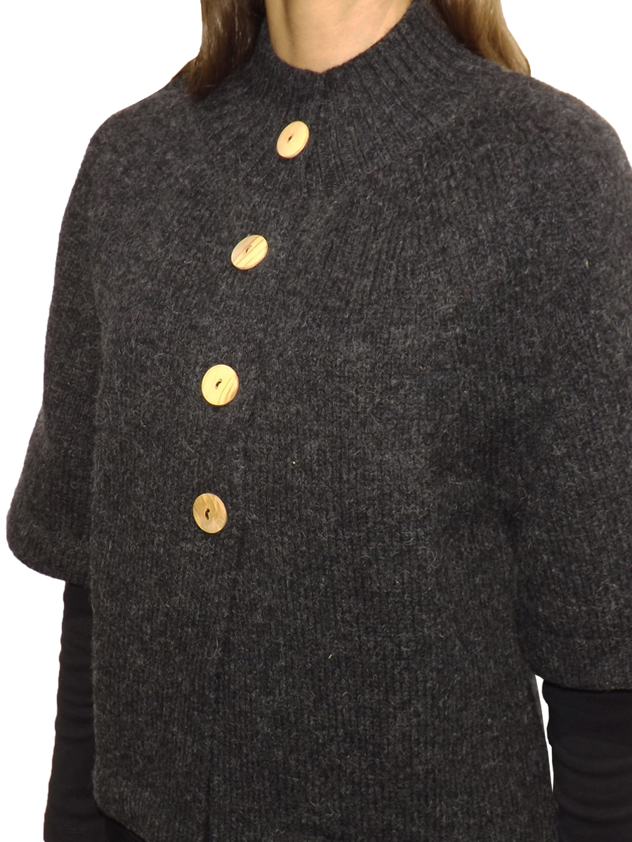 Knitted Arroz Coat