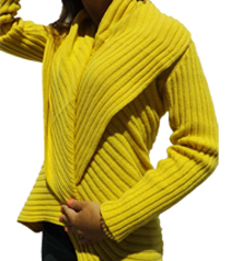 Knitted Roda Coat